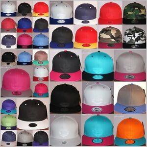Snapback-caps-Plain-flat-peak-fitted-hats-retro-vintage-baseball-Sale-hiphop
