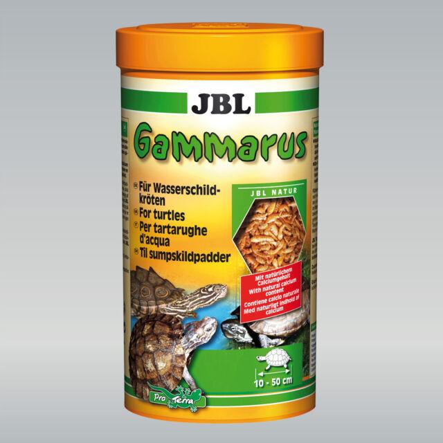 JBL Gammarus Gereinigte Bachflohkrebse Leckerbissen für Wasserschildkröten 250ml