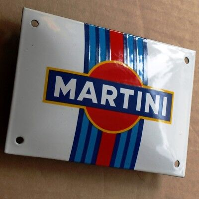 MARTINI Racing Team Email Türschild MAKELLOS Auto Rennen Touren Le Mans APERITIF