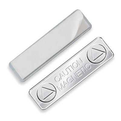 Super Strong Name Tag Magnetic - Magnetic ID Badge Holder with Sticky Back