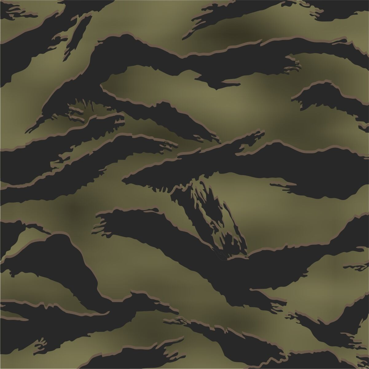 Redleg Camo Tiger stripe camouflage stencil LARGE 12x9 ...