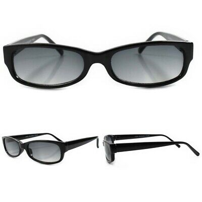 80s Urban Indie Classic True Vintage Black Light Tint Lens Rectangle (Indie Sunglasses)
