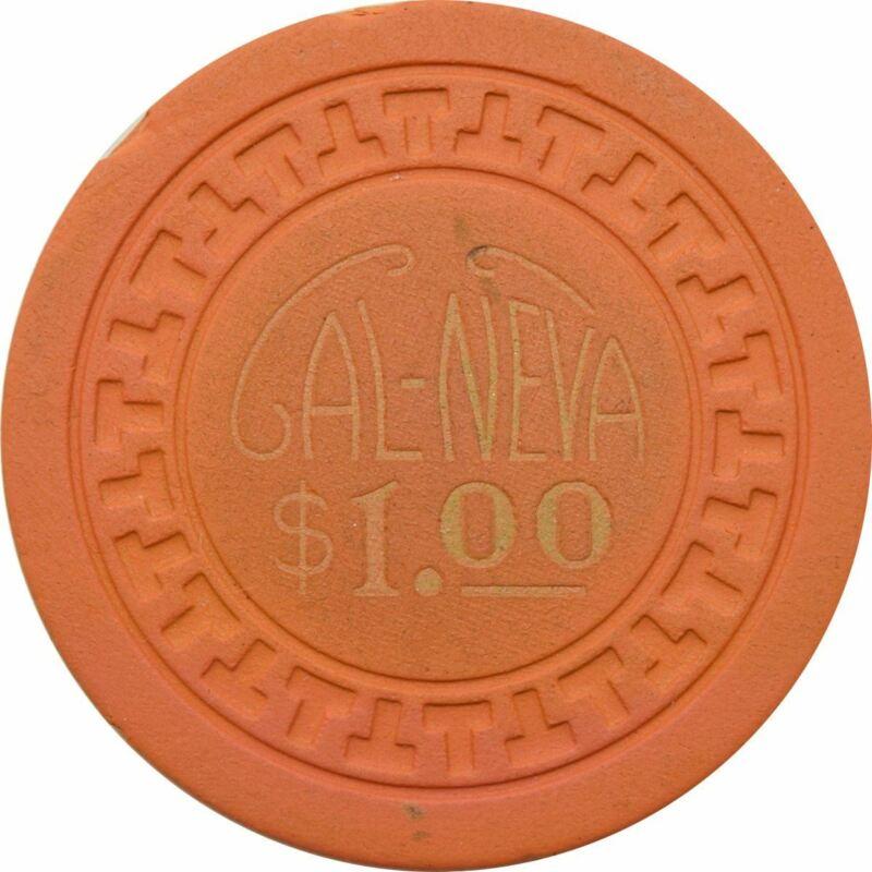 Cal Neva Lodge Casino Lake Tahoe NV $1 Chip 1948