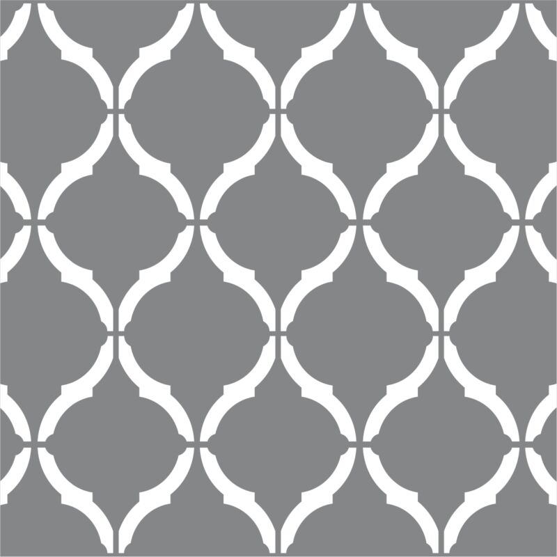"""Moroccan Wall Stencil 2 PACK 12""""x9"""" Craft Airbrush Pattern Painting Paint Art"""