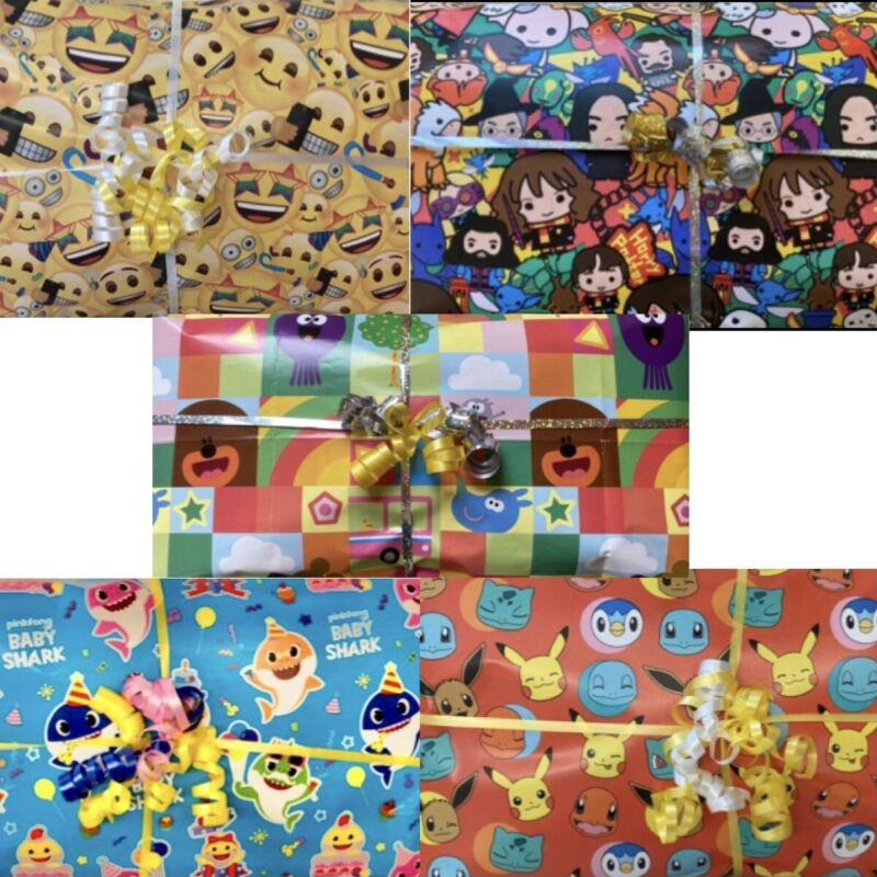 Pass The Parcel Birthday Ready Made 8/10/12/14/16 Layer + Main Prize