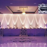 Backdrop With LED Lighting From $200 -Custom Designs
