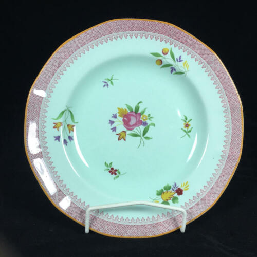 "Excellent ADAMS CHINA 10"" Dinner Plate Lowestoft  Calyx Ware"