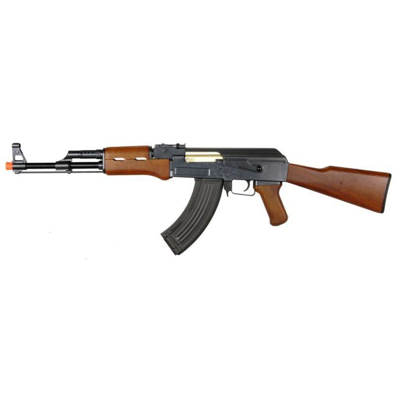 DOUBLE EAGLE AK 47 FULL AUTOMATIC ELECTRIC AIRSOFT AEG GUN Rifle w/ 6mm BB BBs