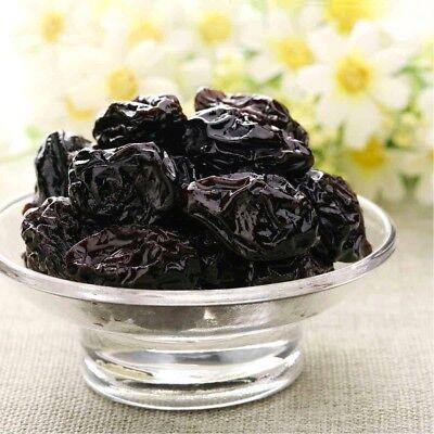 480g Organic Pitted Prunes (Dried, No-GMO, Kosher, Unsulfured, Bulk)