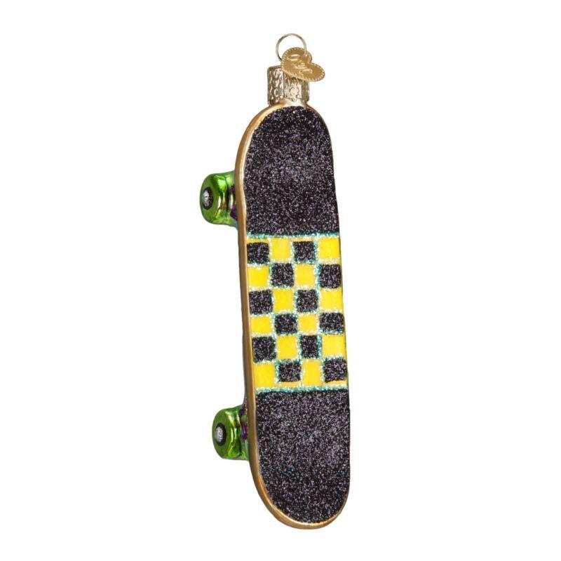 Old World Christmas Skateboard Glass Tree Ornament Decoration 44079 FREE BOX New