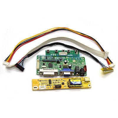 VGA LCD Controller Board Monitor DIY Kit For LTN154X3-L01 CCFL 30Pin US Seller