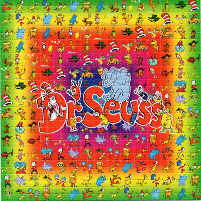 Dr Seuss Paper (Dr Seuss  BLOTTER ART perforated sheet paper psychedelic)