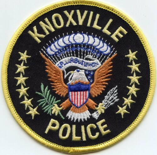 KNOXVILLE TENNESSEE TN Yellow Border POLICE PATCH