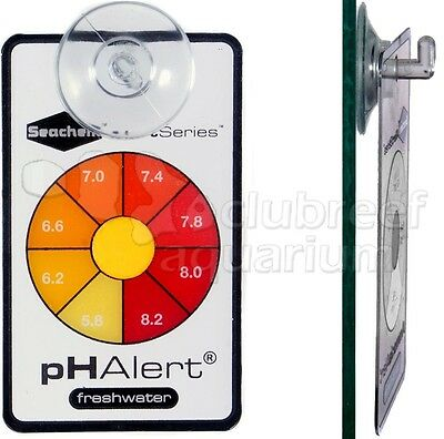 pH Aquarium Alert Continuous Color Changing Aquarium Water Test/Monitor Seachem
