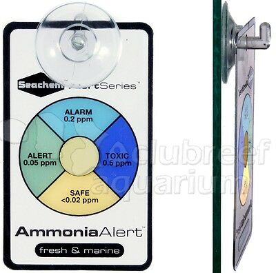 Ammonia NH3 Aquarium Alert Continuous Color Aquarium Water Test/Monitor Seachem