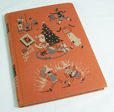 Childcraft, 1947 Holidays and Famous People,Halloween and Christmas Story Book - Famous Halloween Stories