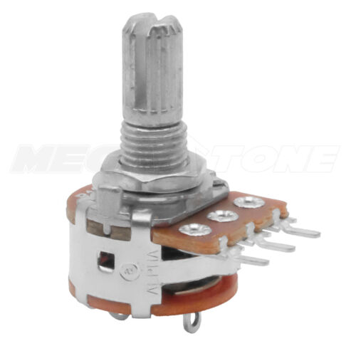 B10K Linear Potentiometer with ON-OFF Switch Alpha PCB-Mount Pins - USA Seller!