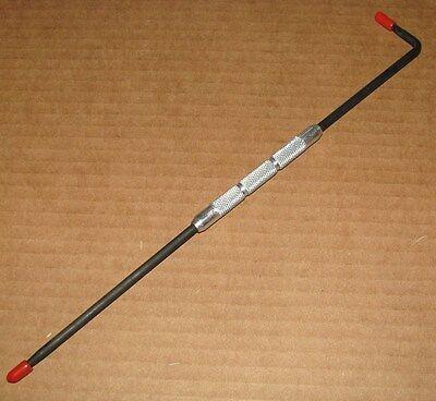 Reißnadel - gerade/abgewinkelte Stahlspitze - Anreißnadel - ca. 250 mm lang