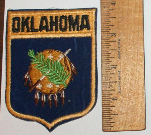 OKLAHOMA patch OK