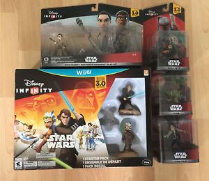 WiiU Disney Infinity 3.0 Star Wars Lot!! BNISB!!