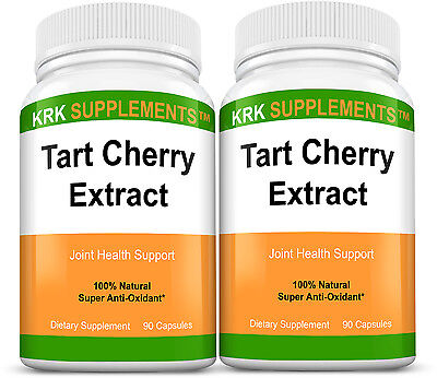 2 Tart Cherry Extract 900Mg Antioxidant Anthocyanins For Gout Joint Arthritis