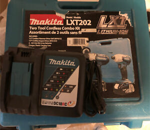 Makita DC18RC Li-ion 18V battery charger plus case  for sale