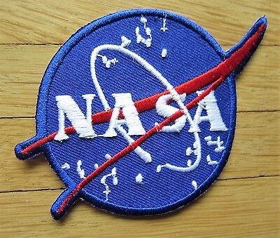 Aufnäher / Aufbügler/ Patch: NASA - Logo F -Stars -  Rar!