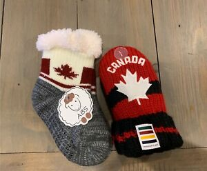Baby Canada Mittens and Socks