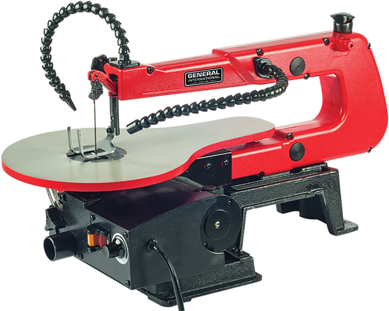 "16"" Scroll Saw - Jigsaw with Flexible Shaft Variable Speed:"