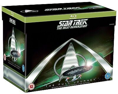 Star Trek The Next Generation 1 7  1987 1994  Complete Picard Tv Series Blu Ray