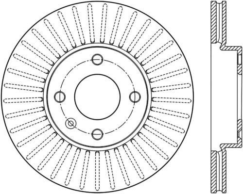 C-TEK Standard Disc Brake Rotor fits 2016-2017 Chevrolet Spark  C-TEK BY CENTRIC