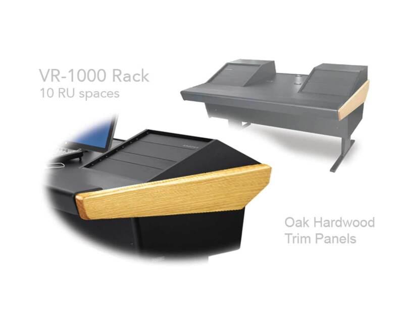 Argosy V Series 70-v2r Universal Workstation Desk Oak Trim | 70-70v2r1000-b-o