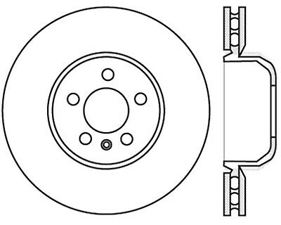Disc Brake Rotor-Sport Drilled Disc Front Left Stoptech 128.34126L