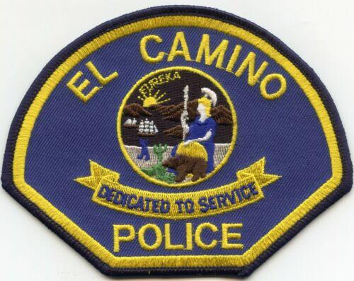 EL CAMINO CALIFORNIA CA Dedicated To Service POLICE PATCH