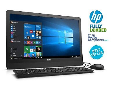 """Dell All in One Computer 23.8"""" Windows 10 8GB 1TB DVDRW Bluetooth (FULLY LOADED)"""