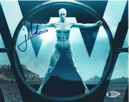 JONATHAN NOLAN SIGNED 8X10 PHOTO WESTWORLD BECKETT BAS AUTOGRAPH AUTO COA A