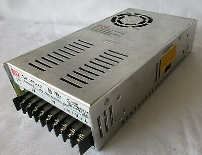 Mw Mean Well Se-350-12 Acdc Power Supply 12v Used Shortly In Led Display