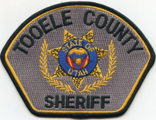 TOOELE COUNTY UTAH UT SHERIFF POLICE PATCH