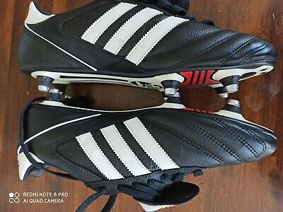 Adidas Kaiser 5 Cup SG Football Boots Black & White Size 8 (41) UK New