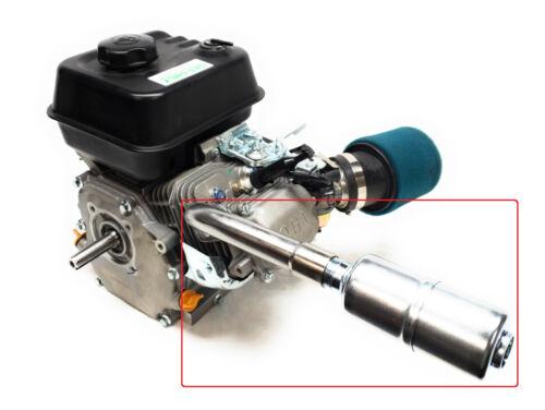 Exhaust With Muffler for: Predator 212cc,Honda GX160,GX200,  DuroMax 7 Hp