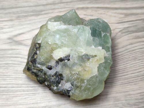 781.00 Ct. Rough Green Prehnite Untreated A569