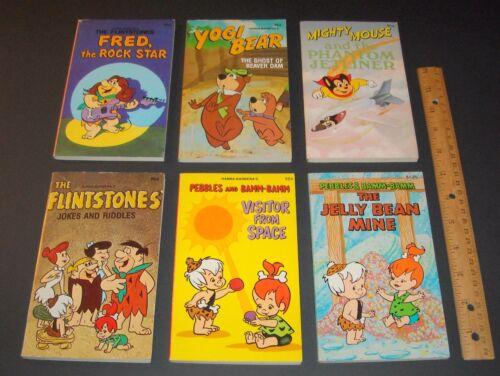 Vintage Hanna-Barbera Lot FLINTSTONES PEBBLES BAMM-BAMM YOGI BEAR MIGHTY MOUSE