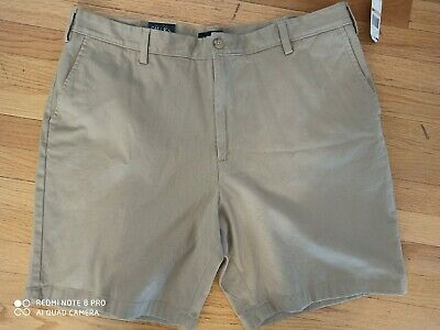 "Nautica Men's Short Pants True Khaki Classic Fit Deck Short 42 W 9"" New"