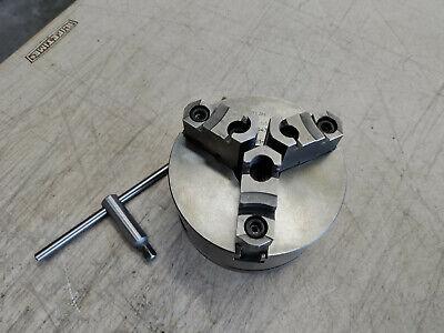 Atlas Craftsman Metal Lathe Bison Putm S5zd No. 0543 5 3 Jaw Chuck 1 12 8 Tpi