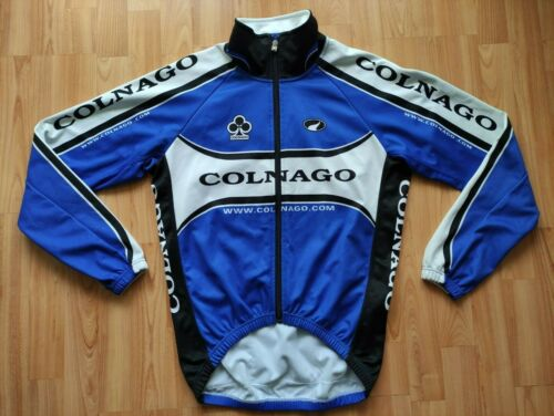 Parentini Colnago Windtex/Fleece  Spring/Autumn Cycling Jacket Size: M