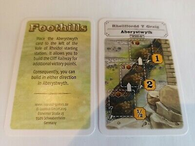 Foothills: Aberystwyth promo cards (2019) LOOKOUT (ENGLISH)