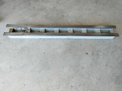 Atlas Craftsman 10 12 Lathe V48 48 Lathe Bed 5 1316 Wide 2 34 Gap