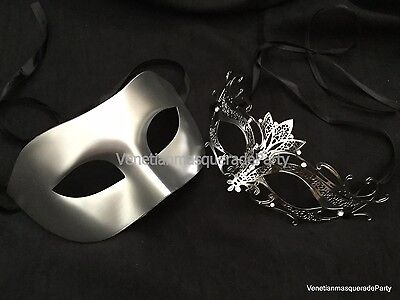 Petite Girl Couple Masquerade mask Pair Halloween Costume Dress up Burlesque](Halloween Mask Girl)