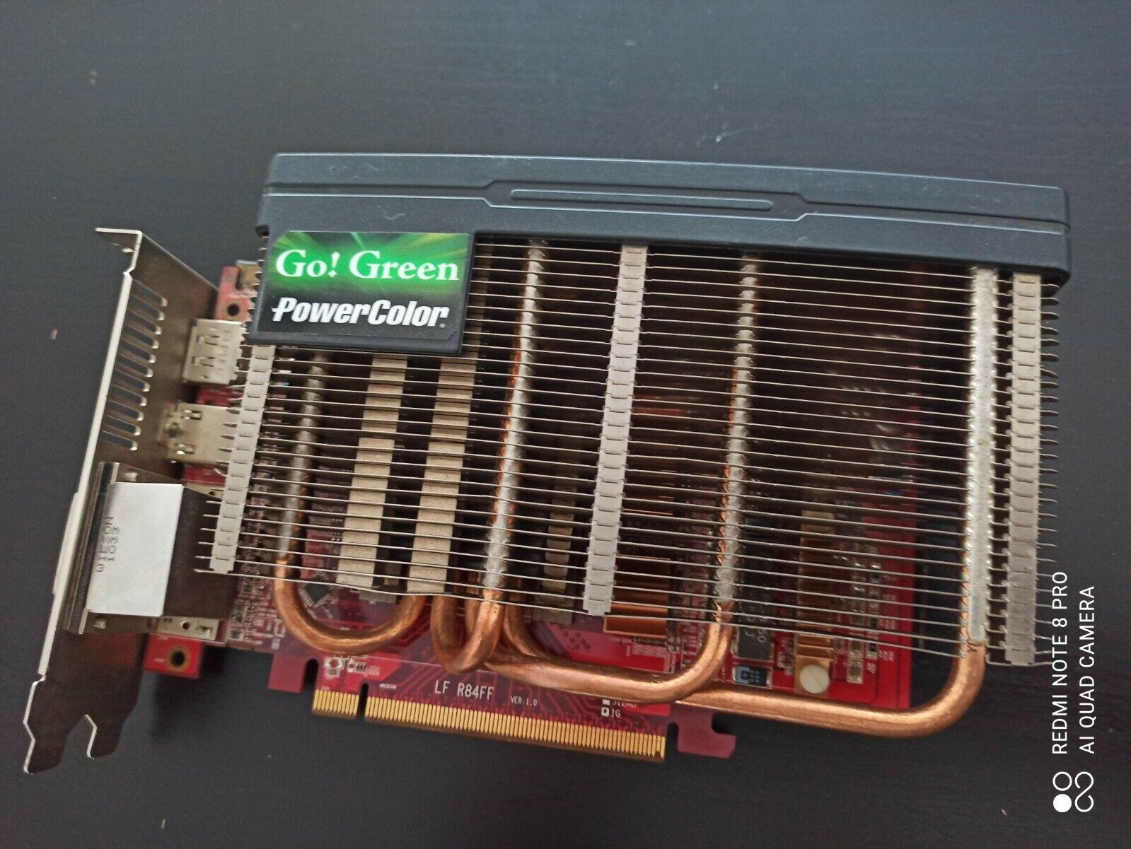 Grafikkarte  Radeon AX5750 1GBD5-NS3DH  passiv gekühlt  2x DVI  HDMI DP