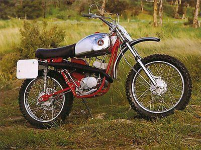1969 Hodaka Super Rat 100mx Photo Vintage Mini Bike Minicycle Minibike